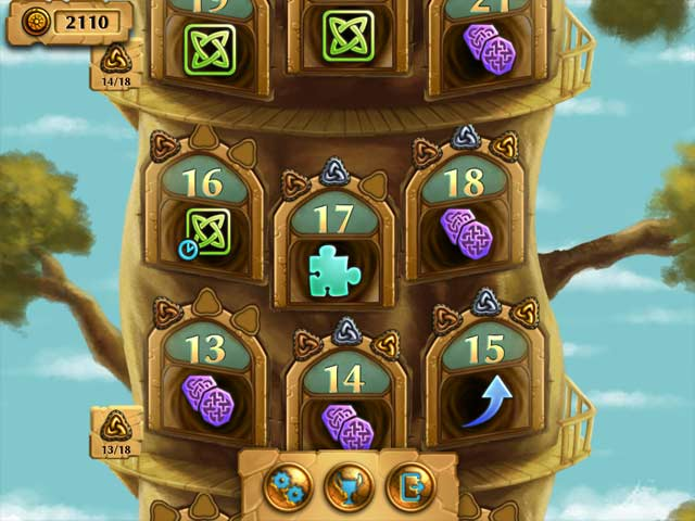 Jewel Tree: Match It Mac Game screenshot 2