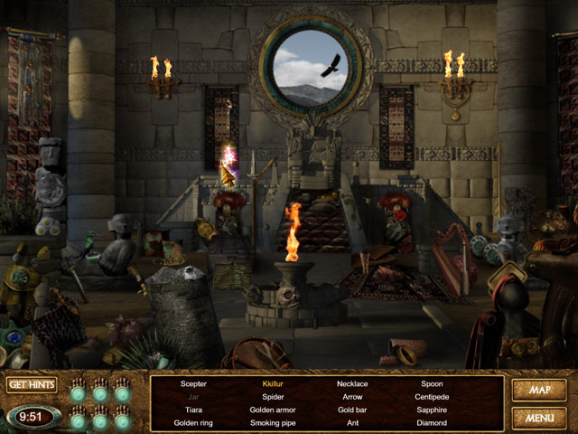 Lost Realms: Legacy of the Sun Princess Mac Game screenshot 1