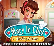 Free Mary le Chef: Cooking Passion Collector's Edition Mac Game