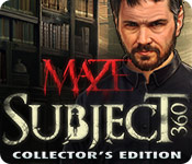 Free Maze: Subject 360 Collector's Edition Mac Game