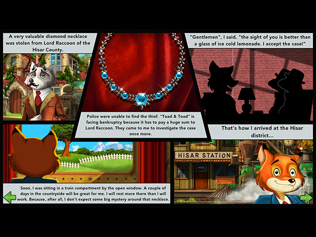 Montgomery Fox and the Case Of The Diamond Necklace Mac Game screenshot 3