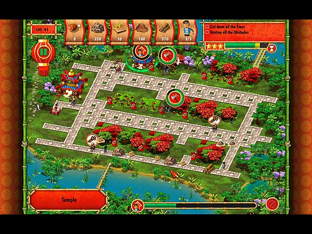 Monument Builders: Great Wall of China Mac Game screenshot 1