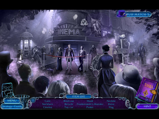 Mystery Tales: The Reel Horror Collector's Edition Mac Game screenshot 2