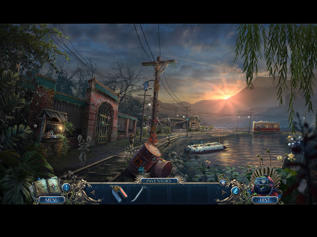 Mystery Trackers: Darkwater Bay Collector's Edition Mac Game screenshot 1