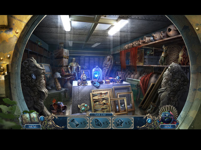 Mystery Trackers: Darkwater Bay Collector's Edition Mac Game screenshot 2