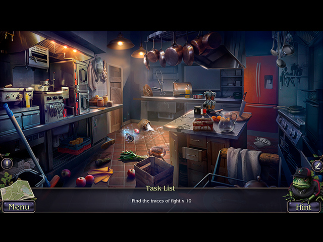 Mystery Trackers: Fatal Lesson Mac Game screenshot 1