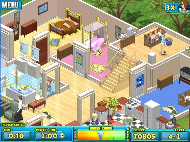 Nanny Mania Mac Game screenshot 1