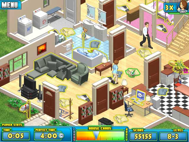 Nanny Mania Mac Game screenshot 3