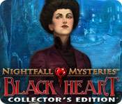 Free Nightfall Mysteries: Black Heart Collector's Edition Mac Game