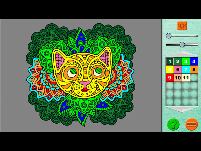 Paint By Numbers 6 Mac Game screenshot 3