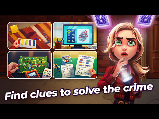 Parker and Lane: Twisted Minds Collector's Edition Mac Game screenshot 1