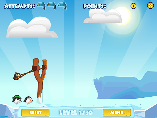 Pengu Wars Mac Game screenshot 1