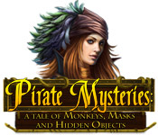 Free Pirate Mysteries: A Tale of Monkeys, Masks, and Hidden Objects Mac Game