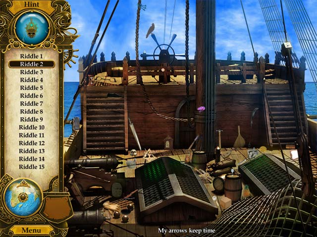 Pirate Mysteries: A Tale of Monkeys, Masks, and Hidden Objects Mac Game screenshot 1