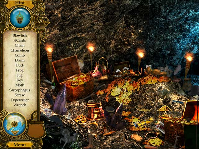Pirate Mysteries: A Tale of Monkeys, Masks, and Hidden Objects Mac Game screenshot 2