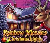 Free Rainbow Mosaics: Christmas Lights 2 Mac Game