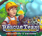 Free Rescue Team: Danger from Outer Space! Collector's Edition Mac Game