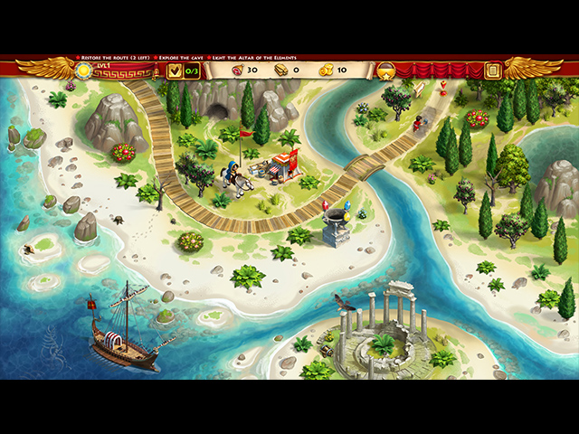 Roads of Rome: New Generation 3 Collector's Edition Mac Game screenshot 1