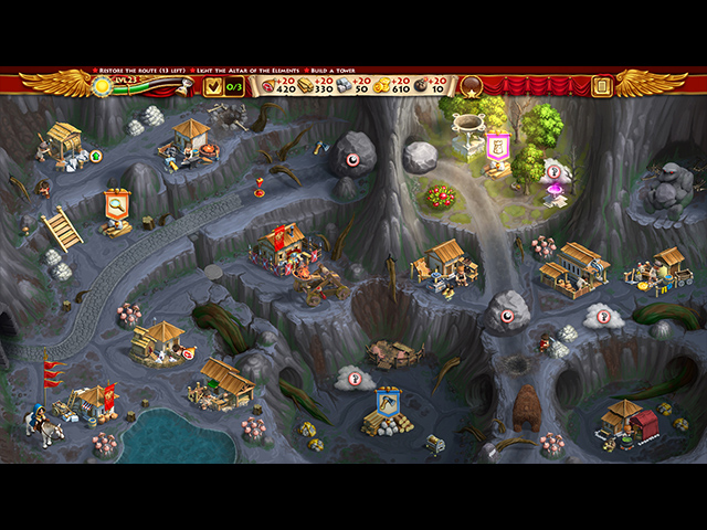 Roads of Rome: New Generation 3 Collector's Edition Mac Game screenshot 3