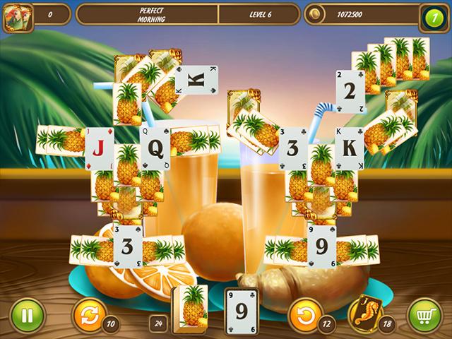 Solitaire Beach Season: A Vacation Time Mac Game screenshot 1