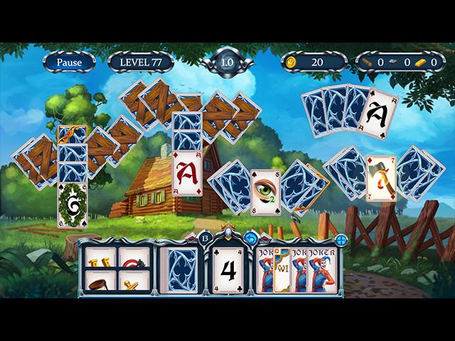 Solitaire Call of Honor Mac Game screenshot 3