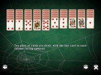 Free SpiderMania Solitaire Mac Game Free