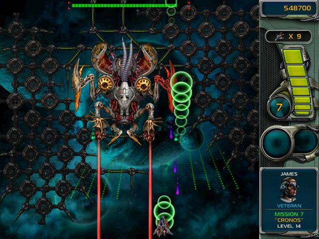 Star Defender 3 Mac Game screenshot 2