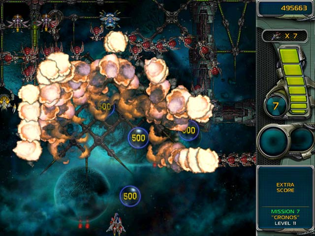 Star Defender 3 Mac Game screenshot 3