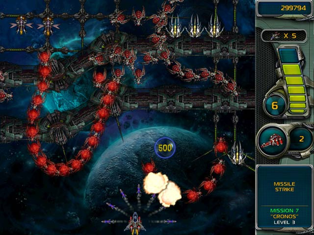 Star Defender 3 Mac Game screenshot 4