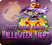 Free Sweet Holiday Jigsaws: Halloween Night Mac Game