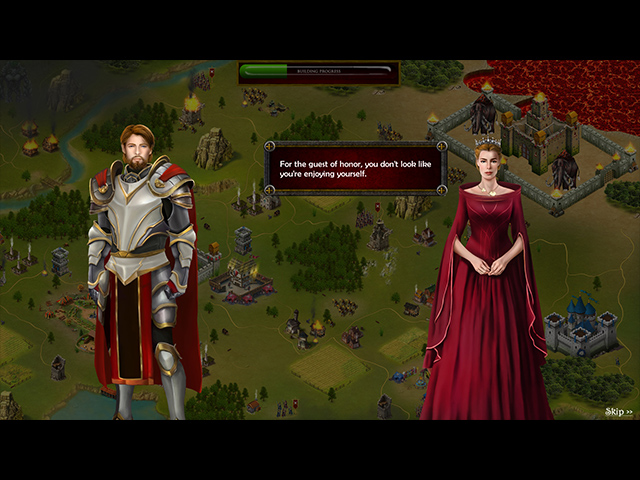The Chronicles of King Arthur: Episode 2: Knights of the Round Table Mac Game screenshot 2