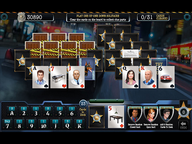 The Deceptive Daggers: Solitaire Murder Mystery Mac Game screenshot 1