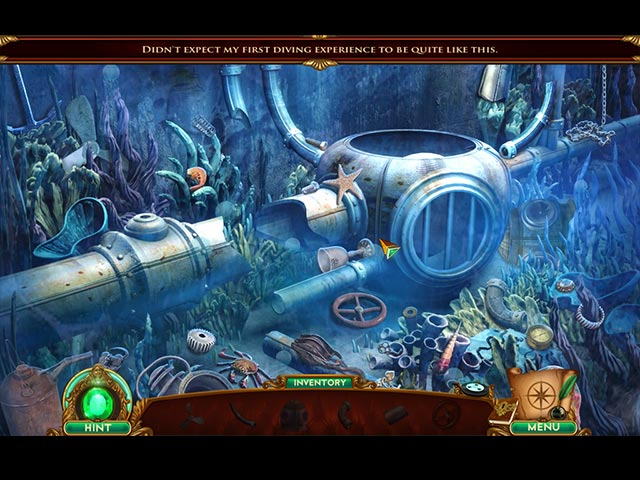 The Emerald Maiden: Symphony of Dreams Mac Game screenshot 1