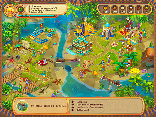 The Great Empire: Relic Of Egypt Mac Game screenshot 1