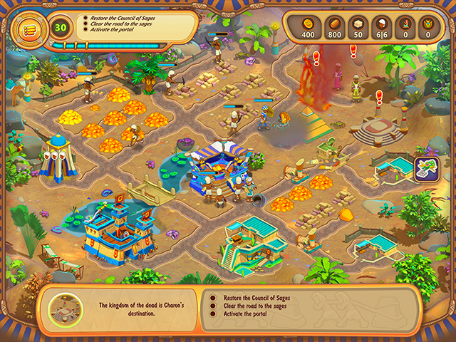 The Great Empire: Relic Of Egypt Mac Game screenshot 2