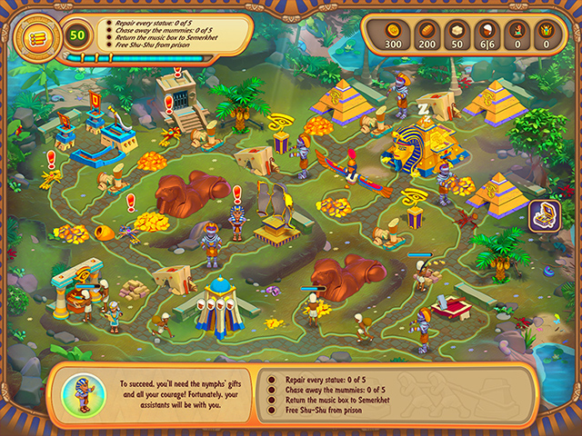 The Great Empire: Relic Of Egypt Mac Game screenshot 3