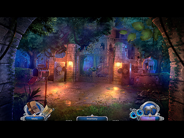 The Man with the Ivory Cane Mac Game screenshot 1