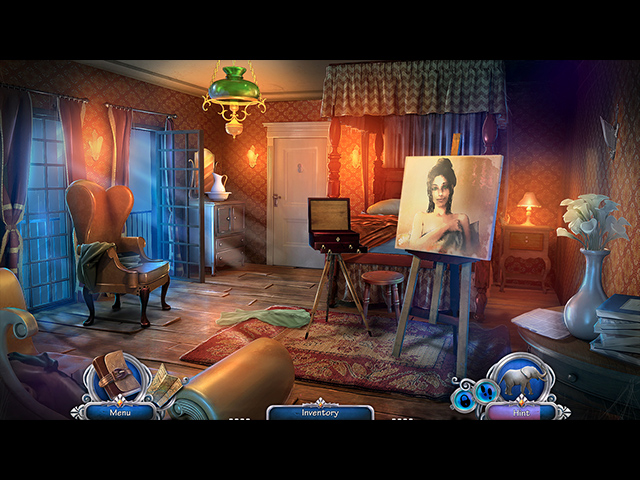 The Man with the Ivory Cane Mac Game screenshot 2