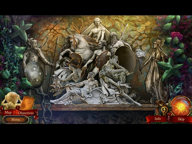 The Myth Seekers: The Legacy of Vulcan Collector's Edition Mac Game screenshot 2