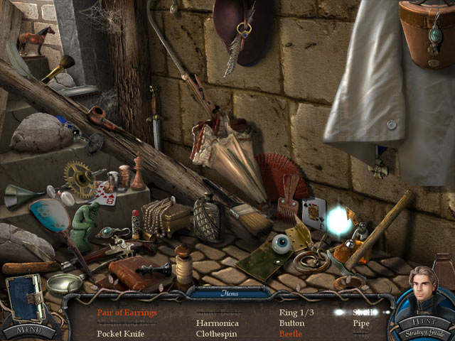Vampire Legends: The True Story of Kisilova Collector's Edition Mac Game screenshot 1