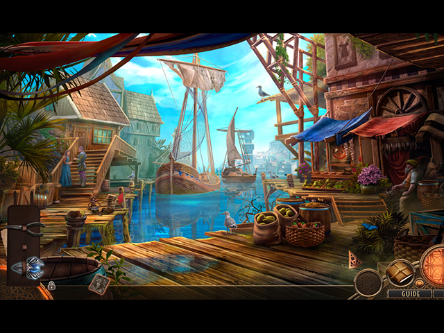 Wanderlust: The City of Mists Collector's Edition Mac Game screenshot 1
