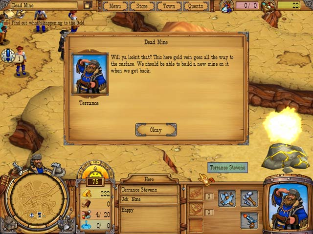 Westward 2: Heroes of the Frontier Mac Game screenshot 2