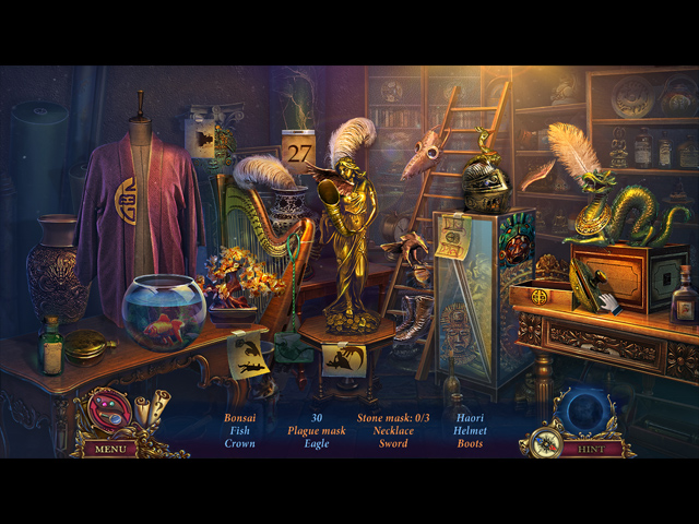 Whispered Secrets: Morbid Obsession Collector's Edition Mac Game screenshot 2