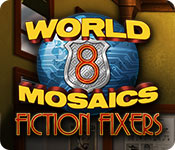 Free World Mosaics 8: Fiction Fixers Mac Game
