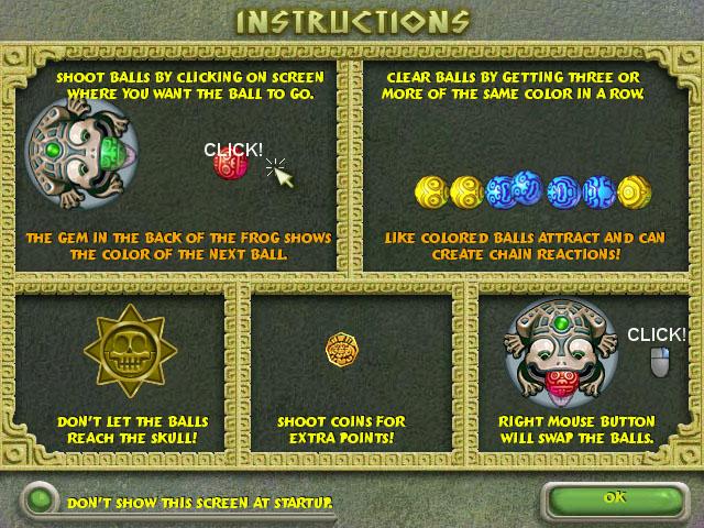 Zuma Deluxe Mac Game screenshot 3