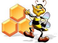 Лого Мини игры Пчелиная вечеринка