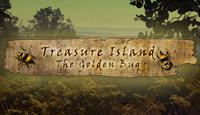 Лого Мини игры Остров сокровищ. Золотой жук