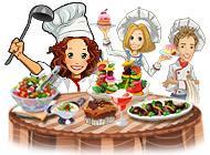 Лого Мини игры Веселый повар