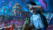 Лого Мини игры Затерянные земли. Тёмный Владыка