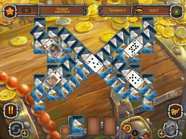 Пиратский Пасьянс картинка из игры 3